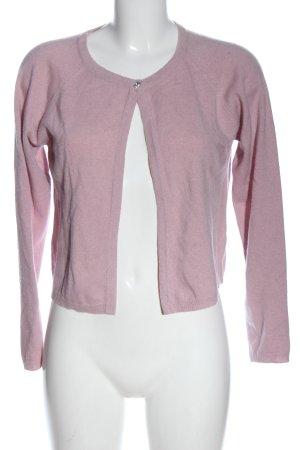 Bartolini Cardigan roze gestippeld elegant