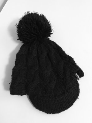 Barts Bobble Hat black polyacrylic