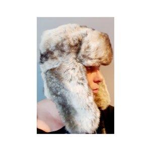 Barts Sombrero de piel marrón arena-marrón