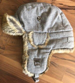 Barts Sombrero de Laponia gris claro Pelaje