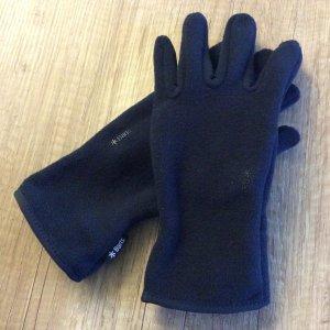 Barts Guantes con dedos azul oscuro Poliéster