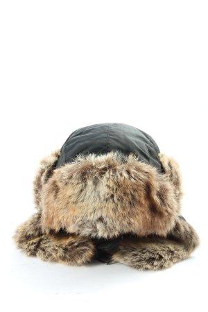 Barts Czapka lapońska czarny-kremowy W stylu casual