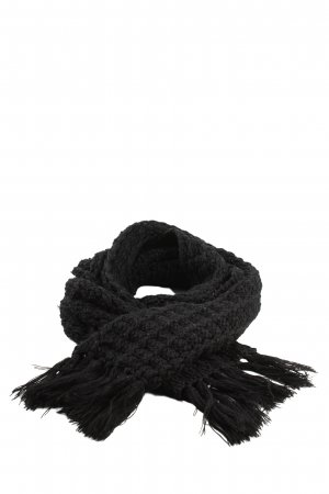 Barts Fringed Scarf black casual look