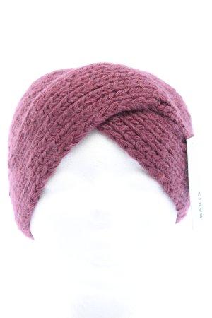Barts Nastro per capelli rosa stile casual