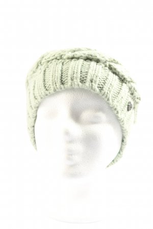Barts Cappello all'uncinetto verde stile casual
