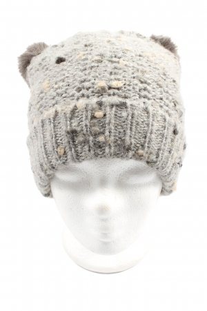 Barts Crochet Cap light grey cable stitch casual look