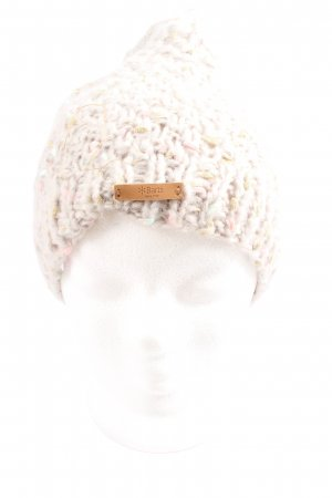 Barts Cappello all'uncinetto crema stile casual