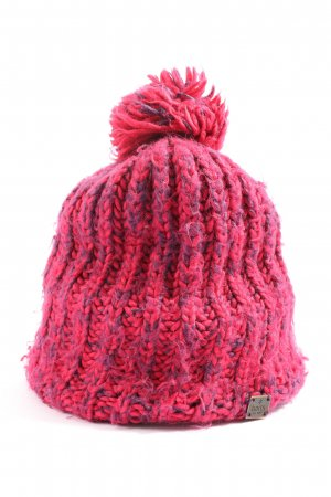 Barts Crochet Cap red flecked casual look