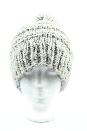 Barts Crochet Cap light grey casual look