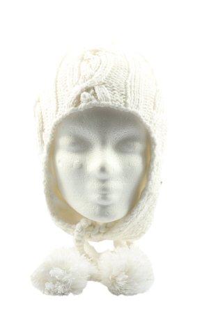 Barts Bonnet cache-oreilles blanc cassé style décontracté