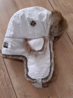 Barts Sombrero de piel blanco