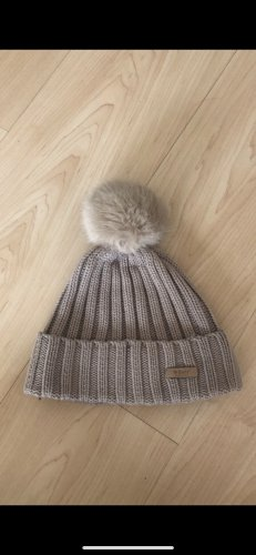 Barts Knitted Hat light brown-grey brown