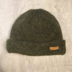 Barts Cappello a maglia cachi-verde scuro