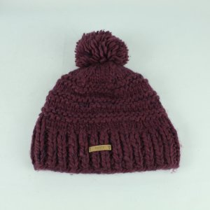 Barts Knitted Hat purple