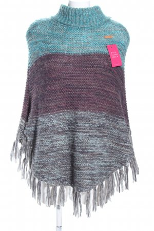 Barts Poncho degradado de color look casual