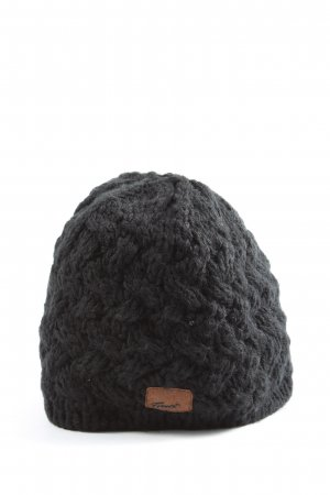 Barts Bobble Hat light grey flecked casual look
