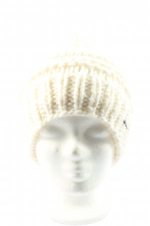 Barts Bobble Hat cream cable stitch casual look