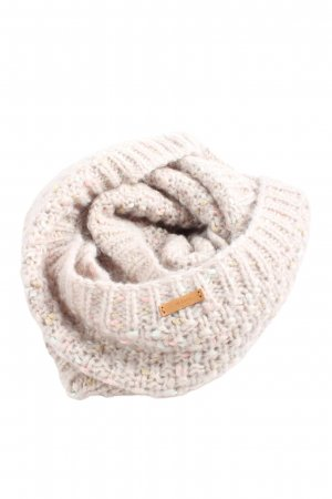 Barts Tube Scarf natural white cable stitch casual look