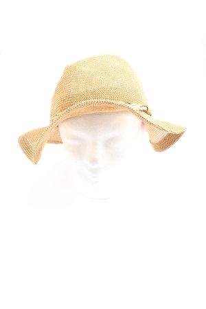 Barts Kapelusz przeciwsłoneczny kremowy W stylu casual