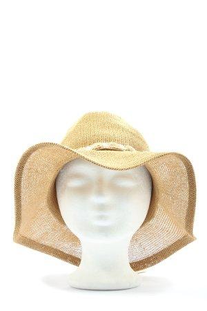 Barts Sombrero de paja crema look casual