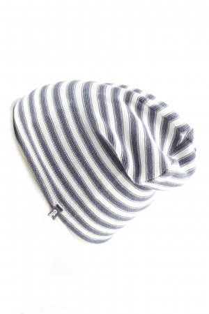 Barts Fabric Hat blue-white striped pattern casual look