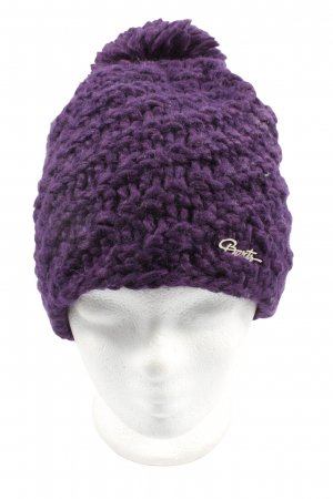 Barts Fabric Hat lilac cable stitch casual look