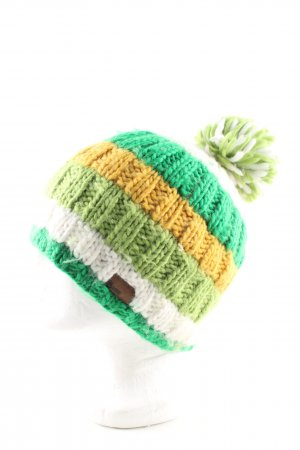 Barts Knitted Hat striped pattern casual look