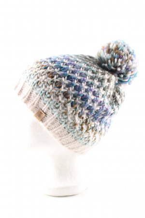 Barts Chapeau en tricot imprimé allover style décontracté