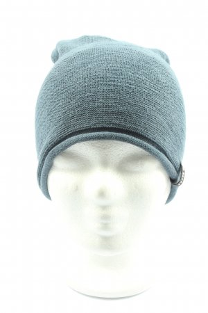 Barts Knitted Hat blue cable stitch casual look