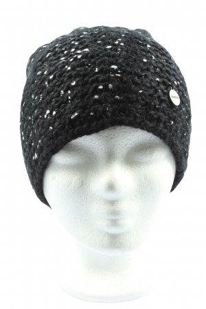 Barts Knitted Hat black-white casual look