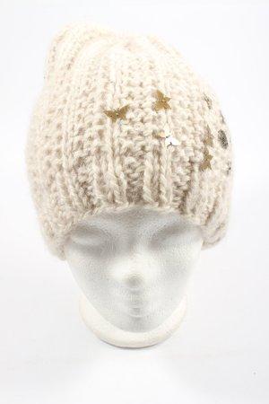 Barts Cappello a maglia crema stile casual