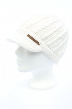 Barts Knitted Hat white casual look
