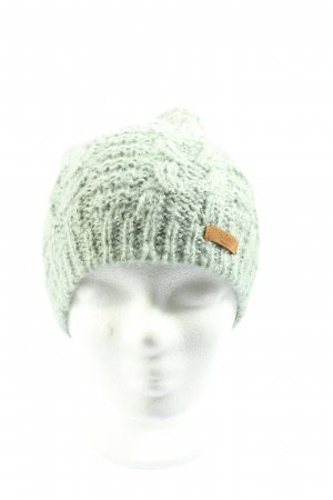 Barts Knitted Hat green cable stitch casual look