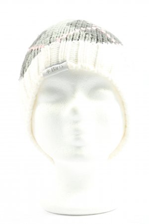 Barts Knitted Hat themed print casual look