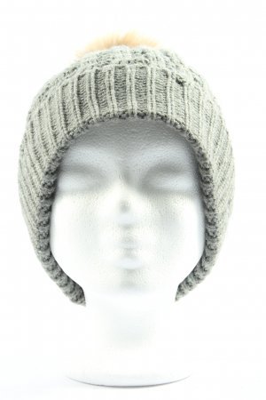 Barts Knitted Hat light grey casual look
