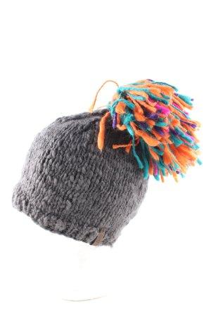 Barts Cappello a maglia multicolore stile casual