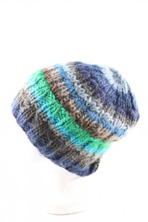 Barts Cappello a maglia motivo a righe stile casual
