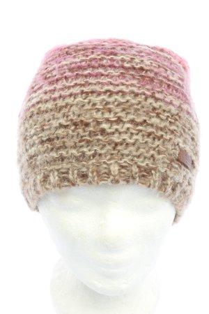 Barts Strickmütze braun-pink Casual-Look