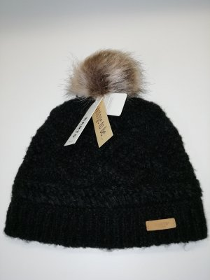 Barts Knitted Hat black polyester
