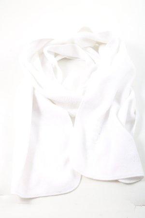 Barts Bufanda de punto blanco look casual
