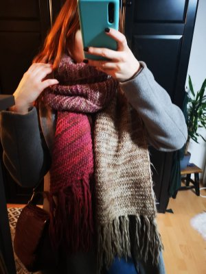 Barts Wollen sjaal camel-roze