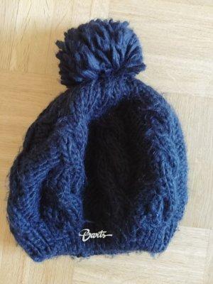 Barts Chapeau en tricot noir acrylique
