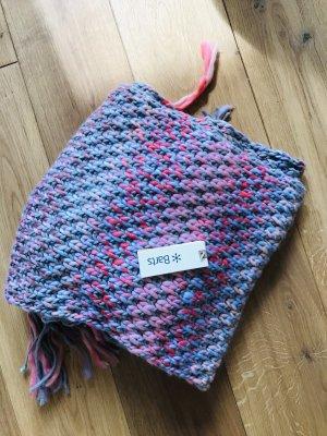Barts Écharpe en crochet violet-rose