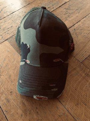 Baseball Cap New Era, camouflage used look