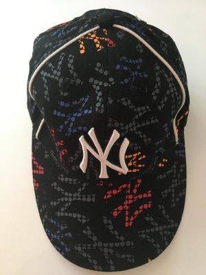 Casquette de baseball multicolore coton