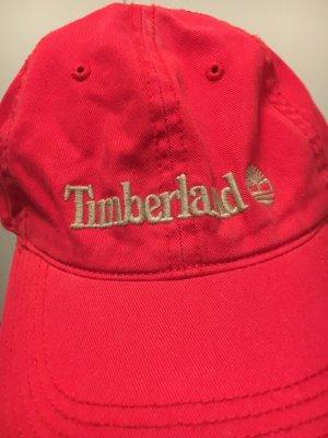 Timberland Baseball Cap dark red