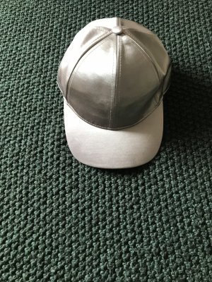 H&M Baseball Cap silver-colored