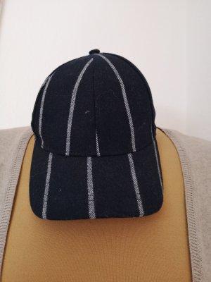 H&M Baseball Cap white-dark blue