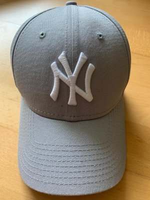New Era Baseball Cap grey-white