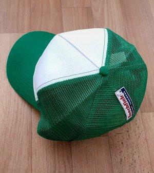 Berretto da baseball bianco-verde bosco